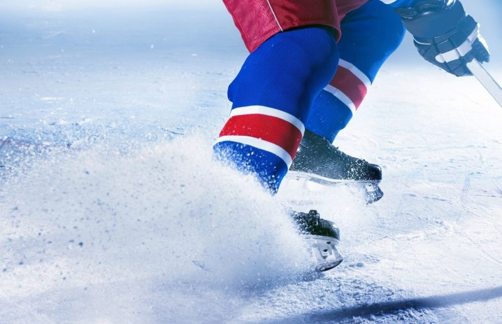 There are many physical benefits of playing ice hockey for kids