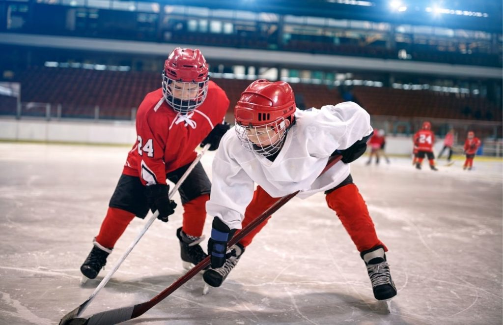 ice hockey control