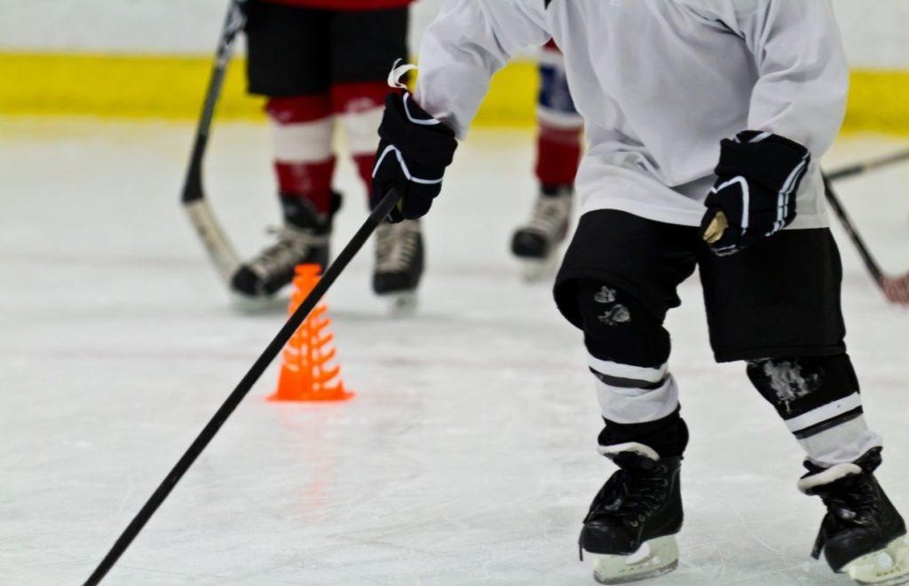 ice hockey drills kids