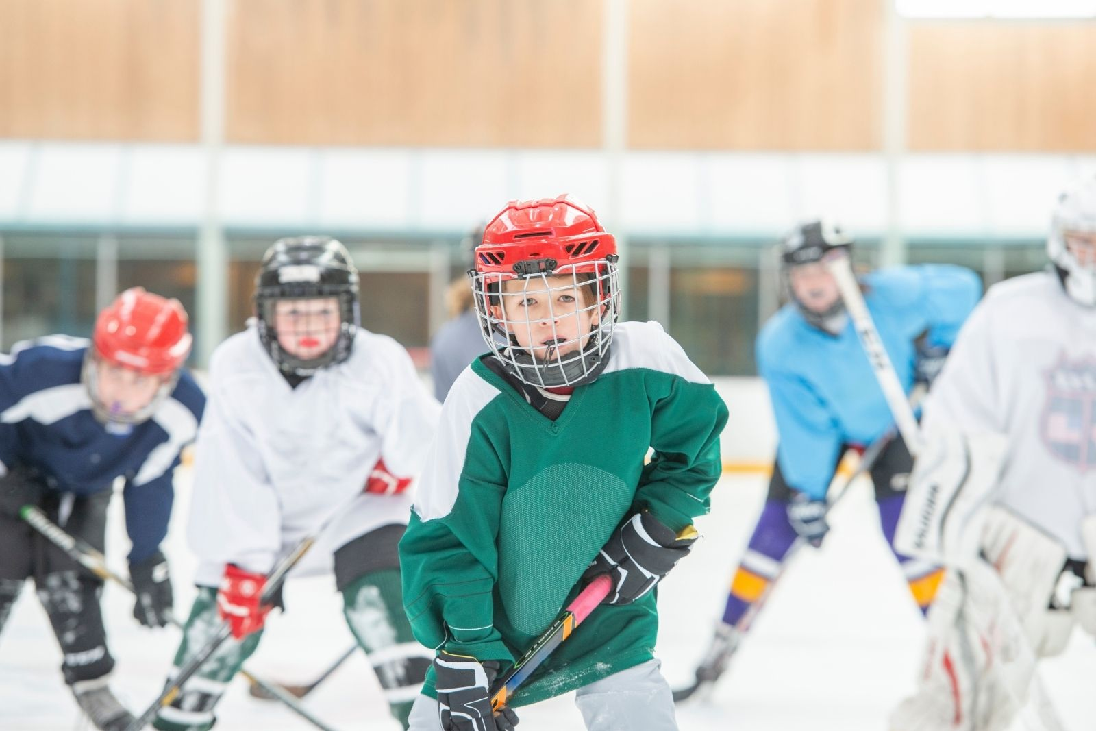 introducing kids to hockey