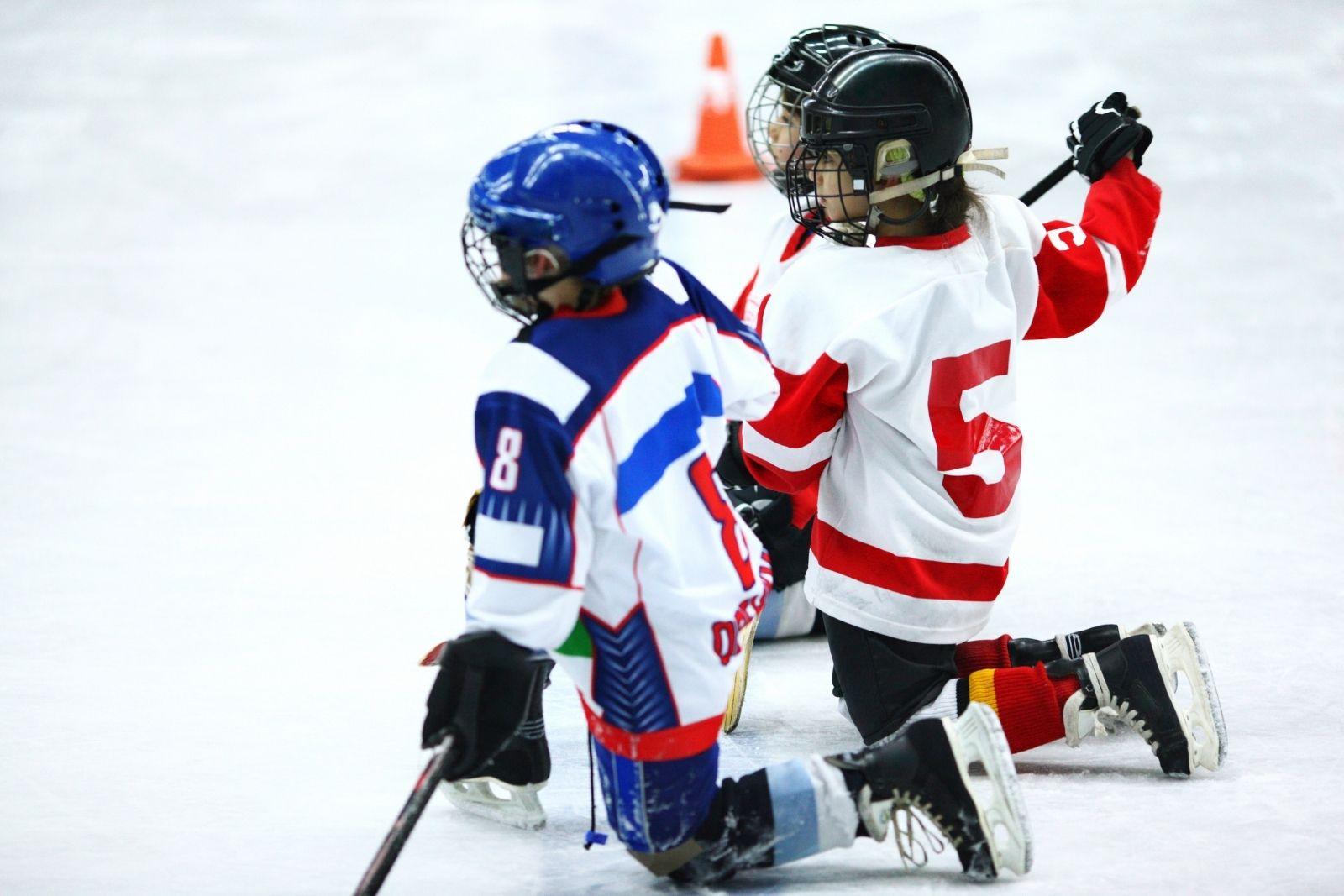 what age kids ice hockey