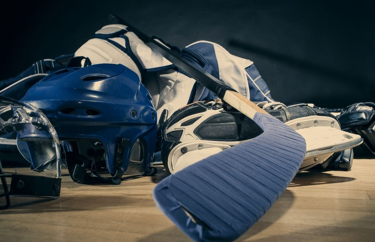 what equipment do you need to play hockey