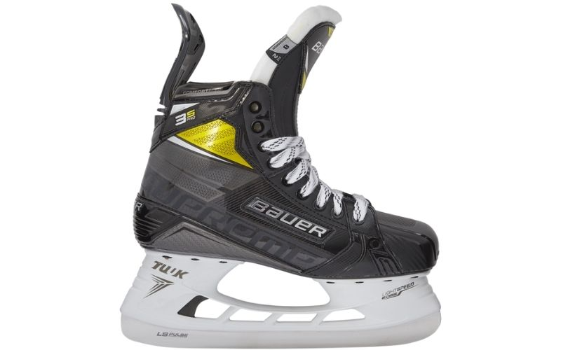 A pair of Bauer Supreme 3S Pro hockey skates