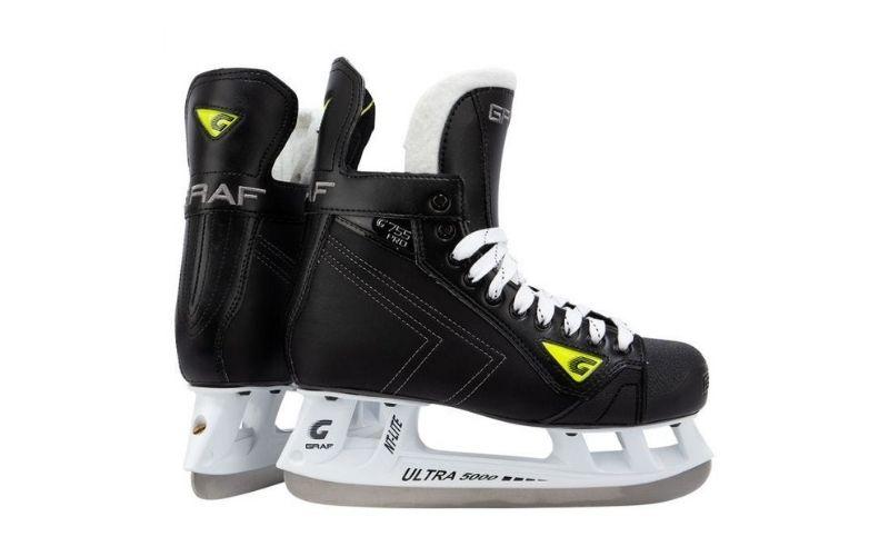 A pair of CCM Super Tacks AS3 hockey skates